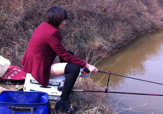 根据春季的鱼情调整线组的灵敏度