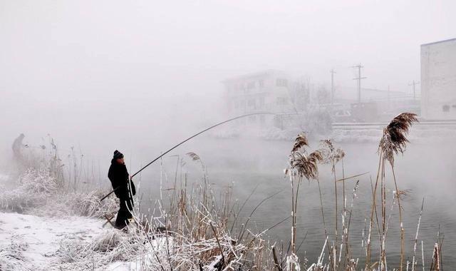 冬天不同天气钓位的选择,掌握后每天都可以钓