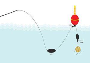 水库抛竿浮钓大头鲢鳙鱼的技巧图解