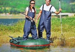 冬季穿涉水裤下水钓鱼的经验技巧