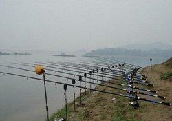 中秋时节水库海竿钓草鱼的技巧