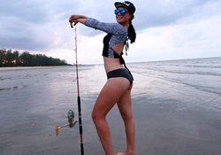 水库钓鱼使用海竿的技巧 菜鸟可速成抛竿高手