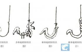 蚯蚓的七种挂钩方法图解